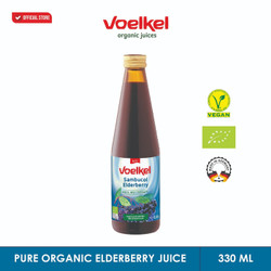 VOELKEL ORGANIC SAMBUCOL BLACK ELDERBERRY JUICE 330 ML