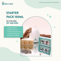 Bonnels Starter Pack (Diffuser + 3 Essential Oil 5ml)