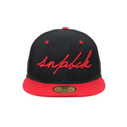 Snapback Topi Hiphop Dewasa SCRIPT Snpbck Black Red
