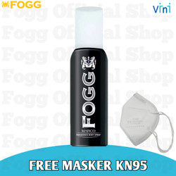 Parfum FOGG Bodyspray FREE Masker KN 95 - For Unisex