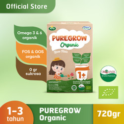 PUREGROW Organic - Susu Formula Organik 1-3 Tahun 720gr Girl