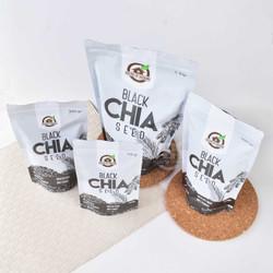 Organic Black Chia Seeds 150 Gr