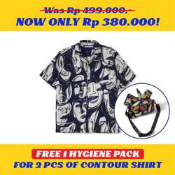 Kemeja Motif Pria / Contour / Contour Donatello Shirt