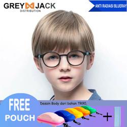 Kacamata Anak/ Kacamata Anti Radiasi/ Kacamata Anti Sinar Biru/8152