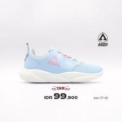 Aerostreet 37-40 Enola Biru - Sepatu Sneakers Sport Wanita Aero Street