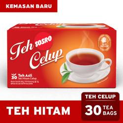 Teh Celup Sosro 30 Bags - Teh Hitam berkualitas - Tea Bag