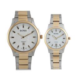 Jam Tangan Couple Jam Tangan Bonia Rosso BR10096-1152 dan BR10096-2152
