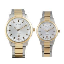 Jam Tangan Couple Jam Tangan Bonia Rosso BR10096-1112 dan BR10096-2112