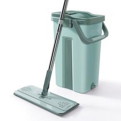Alat pel lantai otomatis / Super mop / Mop box / Alat pel praktis