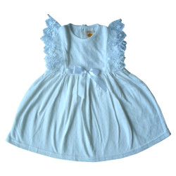PLEU Dress Jaquard Renda Pita - Dress Anak Bayi Perempuan