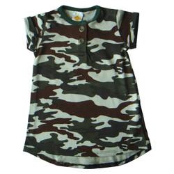 PLEU Dress Army - Dress Anak Bayi Perempuan