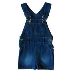 PLEU Overall Jeans Pendek - Jumper/Jumpsuit/Babysuit Anak Bayi Unisex