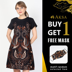 AZKA ELVANDER DRESS BATIK FURING