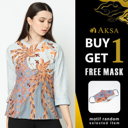 BLOUSE AKSA BATIK HONEY HENRY