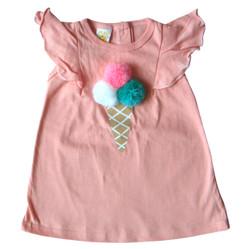 PLEU Dress Ice Cream Cone - Dress Anak Bayi Perempuan