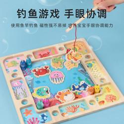 TweedyToys - Papan Montessori 3 in 1 Fishing Beads Toys