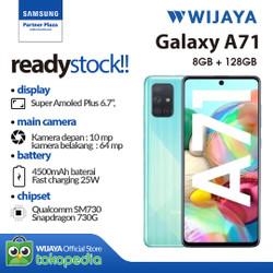 Samsung A71 Smartphone 8/128GB - Garansi Resmi
