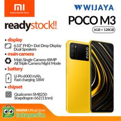 XIAOMI Poco M3 Smartphone 6/128GB - Garansi Resmi TAM