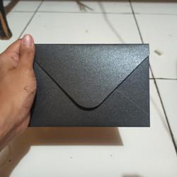 Amplop A6 Hitam Tebal Premium Jasmine Hitam 11x16cm