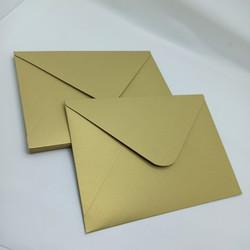 Amplop A5 Tebal Premium Jasmine Gold Dark 16x22 Rounded