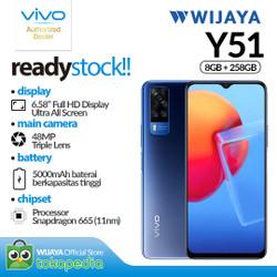 VIVO Y51 Smartphone 8GB/128GB - Garansi Resmi