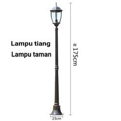 Jual Lampu Tiang Taman Murah Harga Terbaru 2021