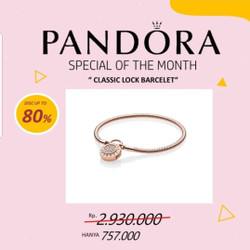 Jual Pandora Bracelet Murah Harga Terbaru 2021