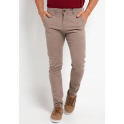 TRIPLE Celana Chinos Stretch Slim Fit Mid Khaki (309 828 KHY)