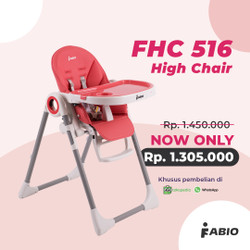 High Chair Fabio FHC 516 - Kursi Makan Anak Multifungsi