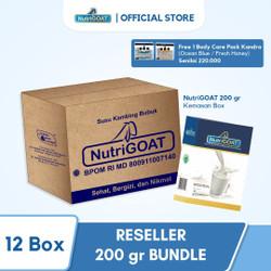 Paket Terbaru Reseller - Susu kambing - susu bubuk - NutriGOAT 200 gr