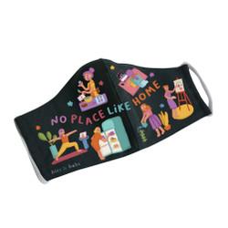bits & bobs - Masker Anti Air / Masker Kain - No Place Like Home