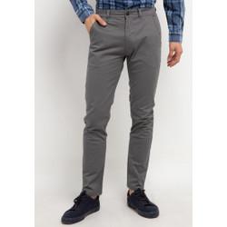 TRIPLE Celana Chinos Stretch Slim Fit Mid Grey (313 828 MGR)