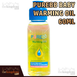 PureBB Warming Oil 60ml Pure BB Baby Minyak Telon Penghangat Anak Bayi