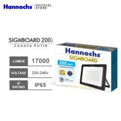 Hannochs LED Flood Light Signboard 200 watt CDL - Putih
