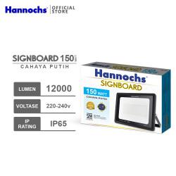 Hannochs LED Flood Light Signboard 150 watt CDL - Putih