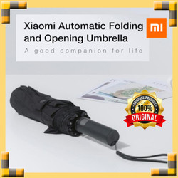 XIAOMI Mijia Automatic Umbrella Payung Opening Closing Otomatis