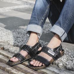 Sandal Slide Pria Tora Black