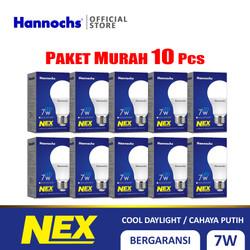 Hannochs Lampu LED NEX 7 watt CDL - Putih PAKET 10PCS