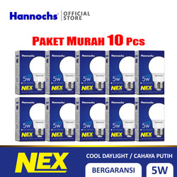 Hannochs Lampu LED NEX 5 watt CDL - Putih Paket 10PCS