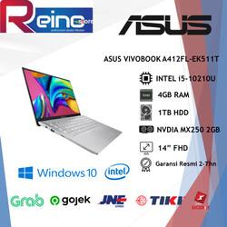 "ASUS VIVOBOOK A412FL-EK511T i5-10210U 4GB 1TB MX250 2GB 14""FHD WIN10"
