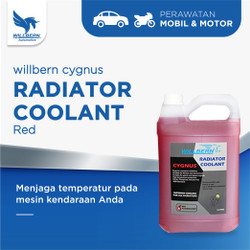 Willbern Coolant Antifreeze - Red Coolant - 5 Liter