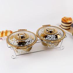 2 pcs Kaserol Keramik Capodimonte