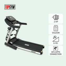 Alat Fitness Treadmill Elektrik Topgym Amsterdam ( Auto Incline )