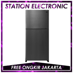 SHARP SJ-IG962PM-SL Kulkas 2 pintu J-Tech Inverter 656 L