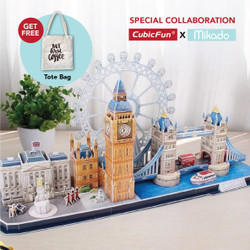 CUBICFUN Cityline London MC253 - 3D Puzzle