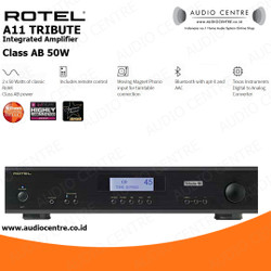 Rotel A11 Tribute Ken Ishiwata stereo integrated amplifier