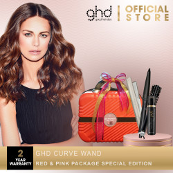 ghd curve wand Red & Pink Package Special Edition