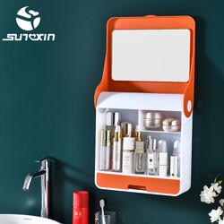 Rak Kosmetik Gantung dengan cermin-9133 / Rak Kosmetik / Rak Make Up