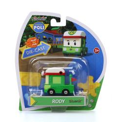 Mainan Robocarpoli Diecast Rody 83255 (Free Wheel)