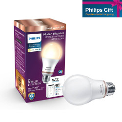 Philips Lampu Smart WiFi LED 9W - Tunable White (Putih)